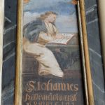 Evangelische Sankt Georgskirche Waltershausen - Gemälde S. Johannes