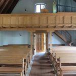Evangelische Erlöserkirche Saal an der Saale - Kircheneingang von Innen