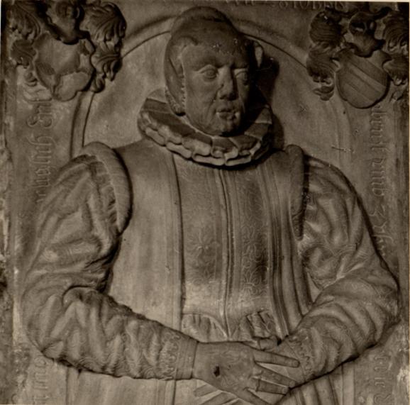 Geschichte der Sankt Georgskirche Waltershausen - Epitaph der Ehefrau von Wilhelm Marschalk von Ostheim