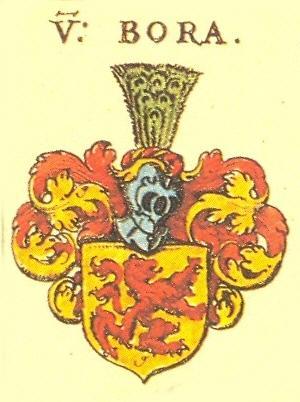 Geschichte der St Georgskirche Waltershausen - Wappen der Familie von Bora