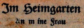 Geschichte der Sankt Georgskirche Waltershausen - Gedicht v. Landwehrmann Fehrmann