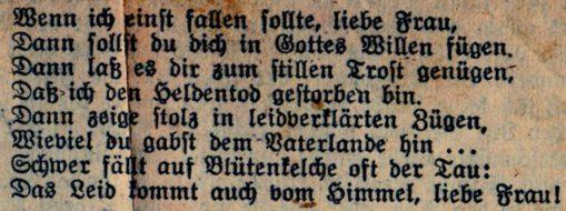 Geschichte Sankt Georgskirche Waltershausen - Gedicht v. Landwehrmann Fehrmann