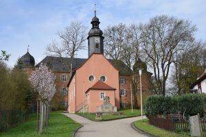 Evangelische Sankt Georgskirche Waltershausen - von außen