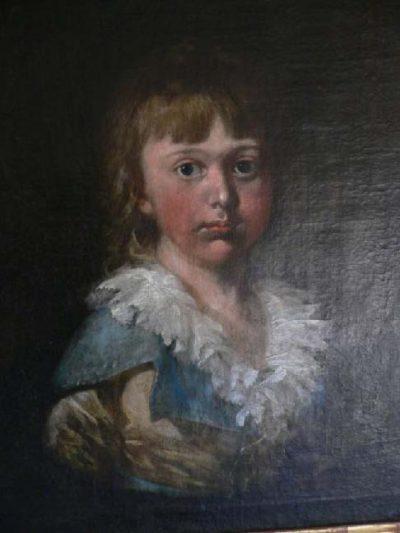 Georgskirche - Gemälde der Charlotte Sophia Marschalk v. O als junges Mädchen