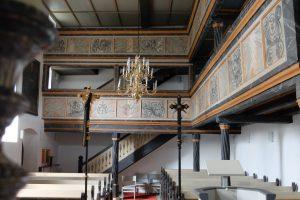Evangelische Sankt Georgskirche Waltershausen - Kircheninneres