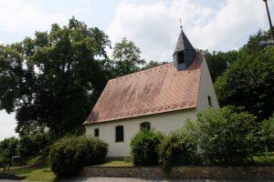 Evangelische Erlöserkirche Saal an der Saale - von der Straße aus